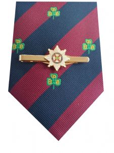 Irish Guards Tie & Tie Clip Set p295